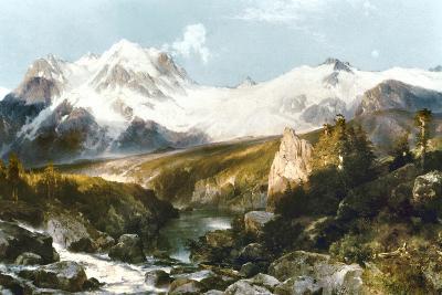 Moran: Teton Range, 1897-Thomas Moran-Giclee Print
