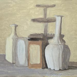 Jars and Bottles by Morandi Giorgio