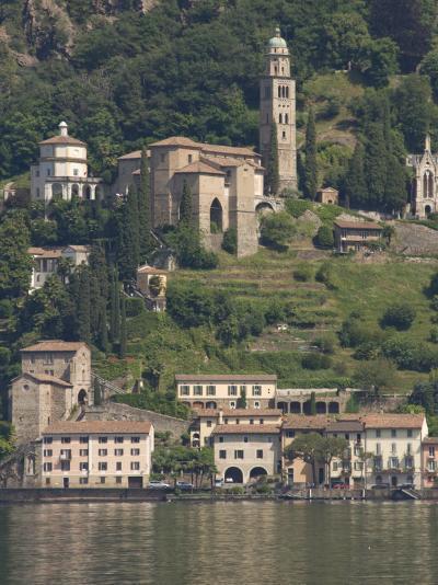Morcote, Lake Lugano, Switzerland, Europe-James Emmerson-Photographic Print