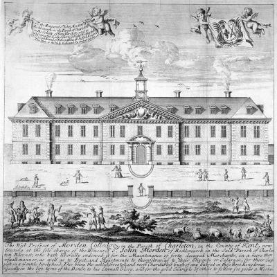 Morden College, St German's Place, Greenwich, London, C1750--Giclee Print