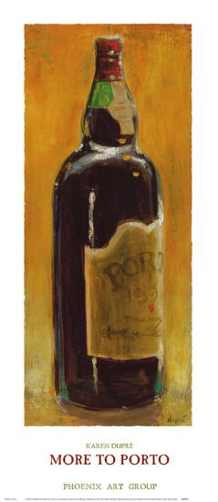 More to Porto-Karen Dupr?-Art Print