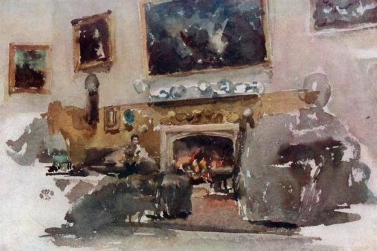 Moreby Hall, C1883-James Abbott McNeill Whistler-Giclee Print
