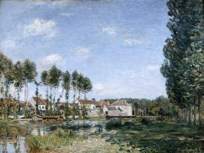 Moret, on the Banks of the Loing, 1892-Alfred Sisley-Giclee Print