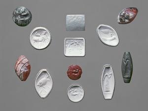 Bronze Age Seal Stones and Impressions, Cretan, C.1600 BC by Moretto Da Brescia