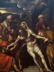 Entombment of Christ by Moretto Da Brescia