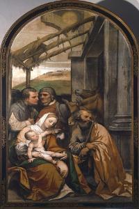 Nativity or Adoration of Shepherds by Moretto Da Brescia