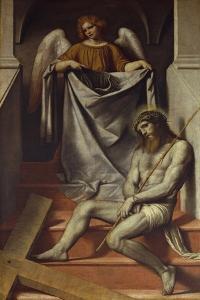 Passion of Christ and Angel, 1540-1560 by Moretto Da Brescia