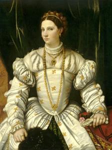 Portrait of a Lady in White, C.1540 by Moretto Da Brescia