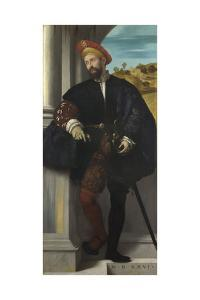 Portrait of a Man, 1526 by Moretto Da Brescia