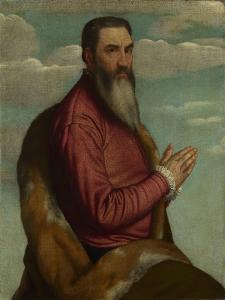 Praying Man with a Long Beard, Ca 1545 by Moretto Da Brescia