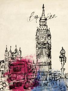 Big Ben in Pen by Morgan Yamada