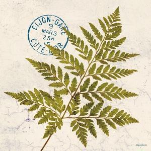 Jade Forest Leaf 1 by Morgan Yamada