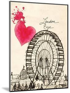 London Eye in Pen by Morgan Yamada