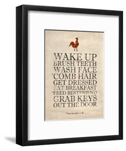 Morning Reminders by Morgan Yamada