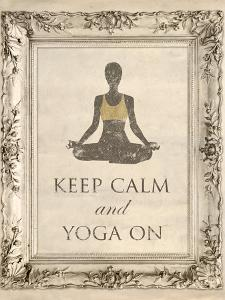Yoga On by Morgan Yamada