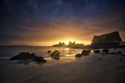 Morgat Sunrise-Philippe Manguin-Photographic Print