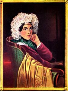Marie Daffinger - wife by Moritz Michael Daffinger