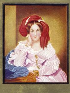 Melanie Zichy von Metternich by Moritz Michael Daffinger