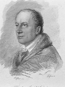 Portrait of Friedrich Kind by Moritz Michael Daffinger