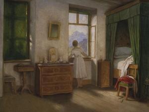 Die Morgenstunde, um 1860 by Moritz Von Schwind