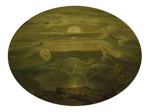 Ghosts over the Water. after 1860 by Moritz Von Schwind