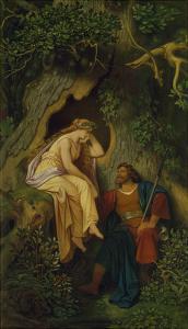 King Krokus and the Dryad. before 1860 (?) by Moritz Von Schwind