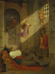 The Dream of the Prisoner, 1836 by Moritz Von Schwind