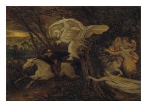 The Erlking, about 1860 by Moritz Von Schwind