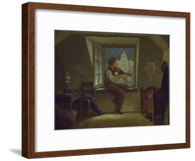 The Violinist at the Window, about 1860