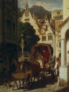 The Wedding Journey, about 1855 by Moritz Von Schwind