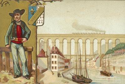 Morlaix, Brittany--Giclee Print