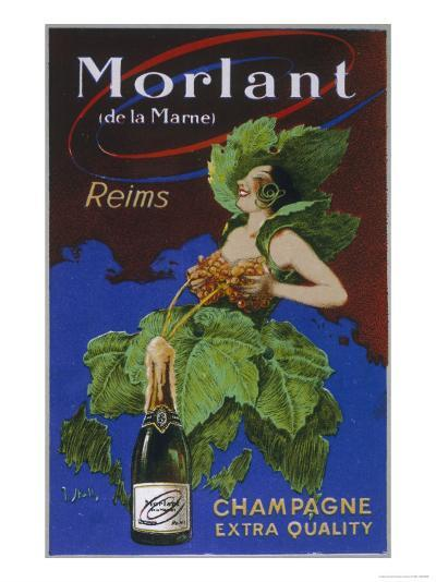 Morlant Champagne Made in Reims--Giclee Print