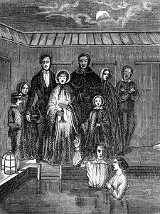 Mormon Baptism by Total Immersion, Salt Lake City, Utah, 1853