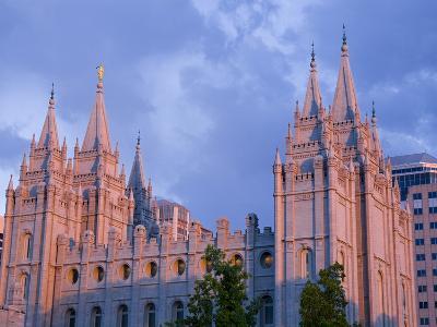 Mormon Temple in Temple Square, Salt Lake City, Utah, United States of America, North America-Richard Cummins-Photographic Print