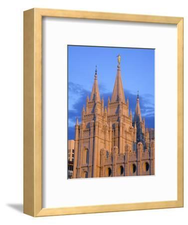 Mormon Temple on Temple Square, Salt Lake City, Utah, United States of America, North America-Richard Cummins-Framed Photographic Print