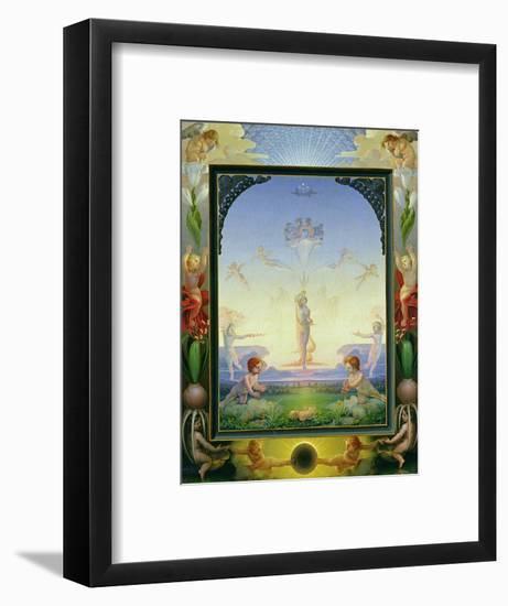 Morning, 1808-Philipp Otto Runge-Framed Premium Giclee Print