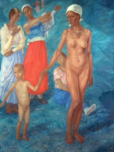 Morning, 1917-Kosjma Ssergej Petroff-Wodkin-Giclee Print