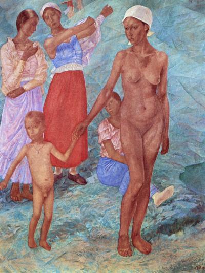 Morning, 1917-Kuz'ma Petrov-Vodkin-Giclee Print