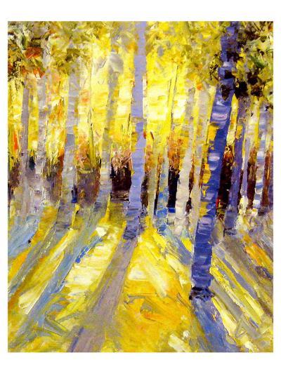 Morning Aspen--Art Print