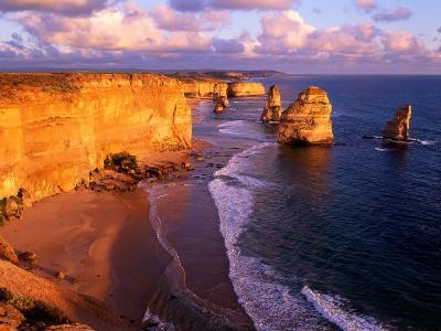 Morning at 12 Apostles, Great Ocean Road, Port Campbell National Park, Victoria, Australia-Howie Garber-Photographic Print