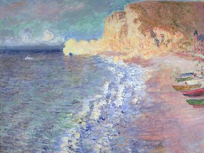 Morning at Etretat, 1883-Claude Monet-Giclee Print