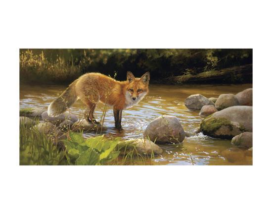 Morning at Honey Creek-Bonnie Marris-Art Print