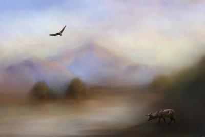 Morning at the Mountain-Jai Johnson-Giclee Print