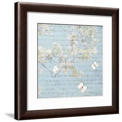Morning Blossoms I-Amy Melious-Framed Art Print