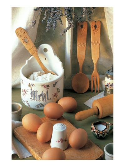 Morning Breakfast--Art Print