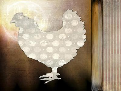 Morning Chicken 1-LightBoxJournal-Giclee Print