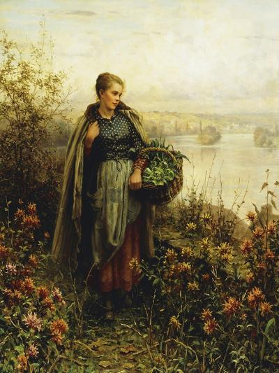 Morning Chill-Daniel Ridgway Knight-Giclee Print