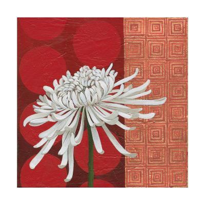 Morning Chrysanthemum II-Kathrine Lovell-Art Print