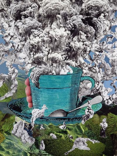 Morning Coffee, 1994-Ellen Golla-Giclee Print