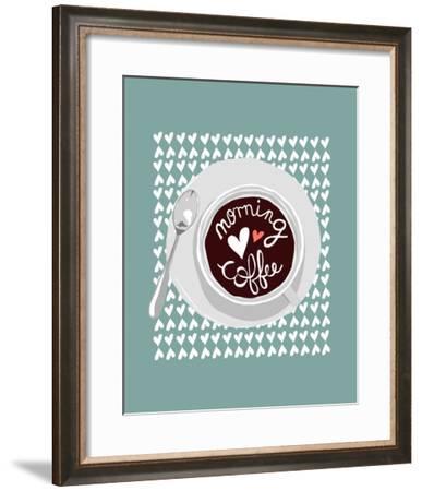Morning Coffee-Myriam Tebbakha-Framed Giclee Print